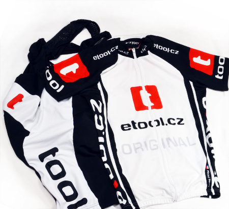 Cyklistické dresy - reklamní textil, potisky, výšivky