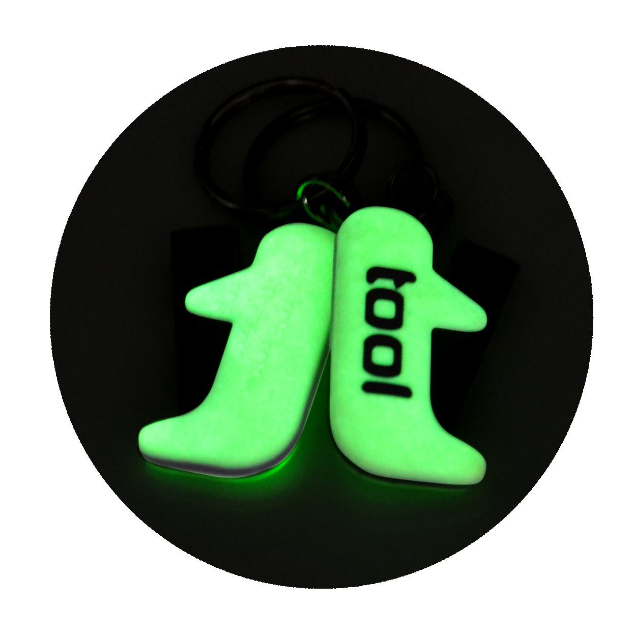 Fluorescenční přívěšek na klíče