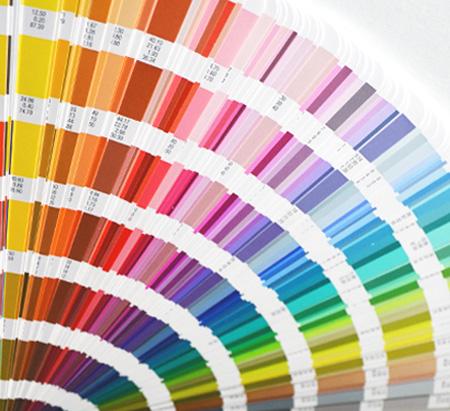Pantone vzorník - zakázkový reklamní textil