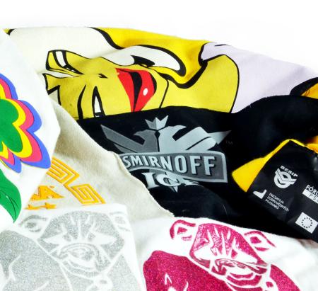 Trička, mikiny - reklamní textil, potisky, výšivky