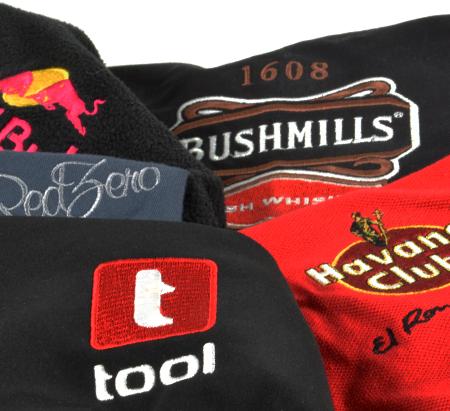 Trička, ručníky, mikiny - reklamní textil, výšivky