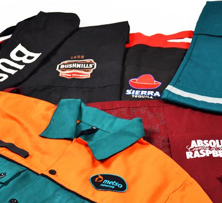Reklamní pracovní textil, vesty, montérky - návrh a výroba