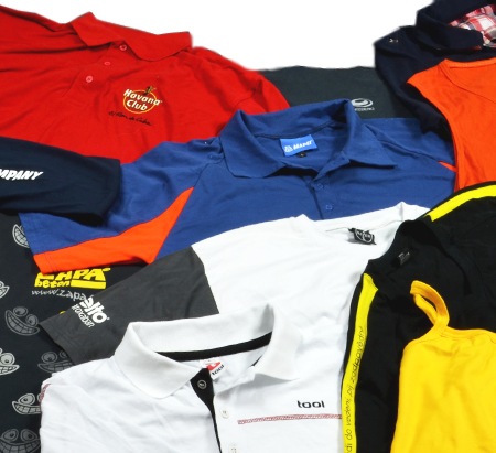 Zakázková reklamní trička a polo košile - design a výroba