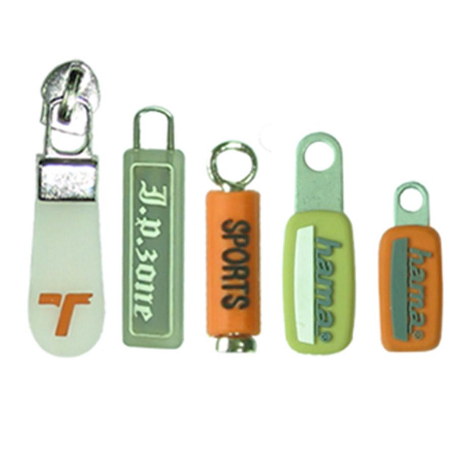 technické, průmyslové odlitky, pvc - guma - silikon - koncovka, zip, kovová