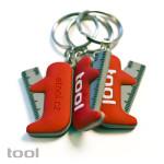 Tool : gumový přívěsek na klíče : zakázkové reklamní předměty
